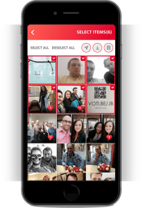 screenshot interface eventer app
